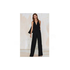 Nasty Gal Paradise Found Plunging Jumpsuit